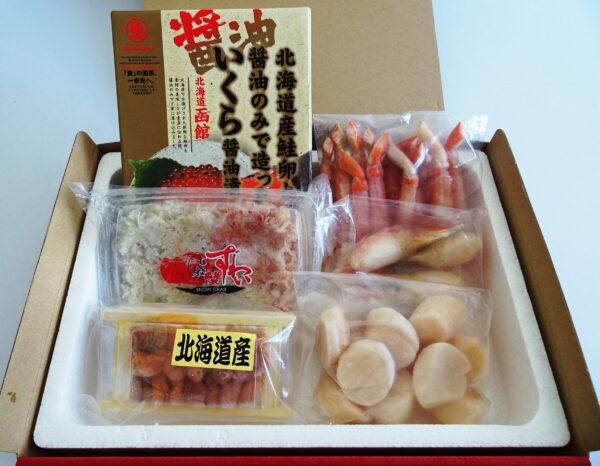 海鮮丼セット(6点)